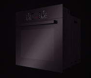 Modern svart elektrisk ugn framförande 3d Royaltyfria Foton