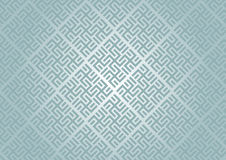 Modern Swastika Symbol Pattern on Pastel Color Stock Photography