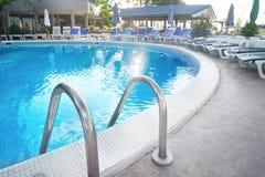 Modern swimming pool Royalty Free Stock Photos