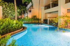Modern Swimming Pool Royalty Free Stock Image