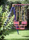 Modern swing Stock Photo
