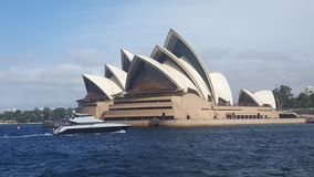 The Sydney Opera House in NSW Australia royalty free stock photo