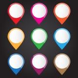 Modern symbol för vektorillustration för design och idérikt arbete Royaltyfria Bilder