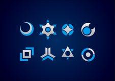 Modern symbol logo. Vector eps modern symbol logo icon Royalty Free Stock Photography