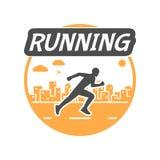 Modern  symbol for run. Stock Photography