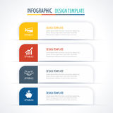 Modern tab index infographic options template with paper sheets. Vector element can be used for web design and workflow layout vector illustration