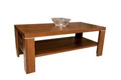 modern tabell för kaffe Arkivfoto
