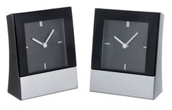 Modern table clock Royalty Free Stock Photography
