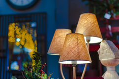 Modern Table lamp Royalty Free Stock Images