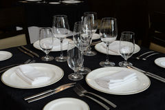Modern table setting Royalty Free Stock Photography
