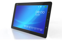 Modern tablet PC with interface Stock Photo