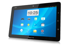Modern tablet PC with interface Stock Photos