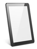 Modern tablet pc on white Stock Photos