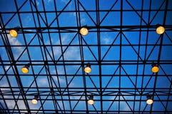 modern takfönster Royaltyfri Fotografi