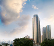 Free Modern Tall Apartment Touch The Sky Royalty Free Stock Photo - 11578055