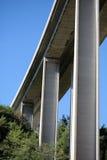 Modern tall highway bridge Royalty Free Stock Photography