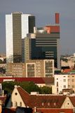 Modern Tallin. Modern part of Tallin from the Toompea Hill Royalty Free Stock Photo