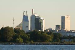 Modern Tallinn stock afbeelding