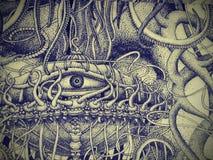 Modern tapestry Stock Photos