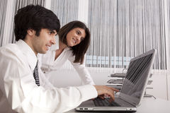 Modern team at the office Stock Images