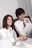 Modern team at the office Royalty Free Stock Photography