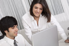 Modern team at the office Royalty Free Stock Image