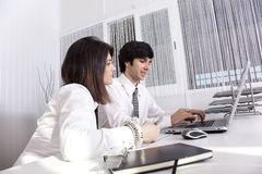 Modern team at the office Royalty Free Stock Images