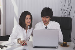 Modern team at the office Stock Photography