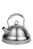 modern teapot för metall Arkivfoto