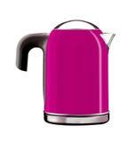 Modern teapot Royalty Free Stock Image