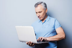 Modern technologies always at hand. Royalty Free Stock Images