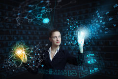 Modern technologies in use Stock Image
