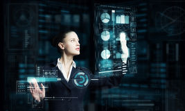Modern technologies in use Stock Photography