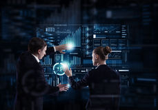 Modern technologies in use Stock Images