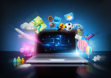 Modern Technology Royalty Free Stock Images
