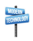 Modern technology. Illustration design over a white background Stock Images