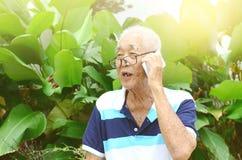 Asian senior man Stock Images