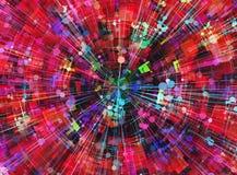 Modern technology backgrounds. Digital world multilayer backgrounds texture vector illustration