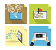Modern technology concepts Royalty Free Stock Photo