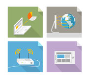 Modern technology concepts Royalty Free Stock Photos