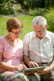 Modern technology in every age Royalty Free Stock Photos