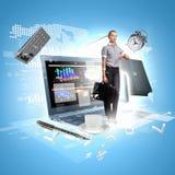 Modern technology illustration Stock Photos