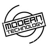 Modern Technology rubber stamp Stock Photo