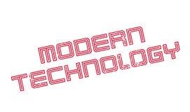 Modern Technology rubber stamp Stock Photos