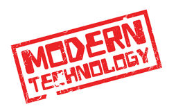 Modern Technology rubber stamp Royalty Free Stock Photo