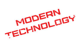 Modern Technology rubber stamp Royalty Free Stock Image