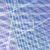 Modern technology striped abstract background with copy space ve. Ctor. Purple light geometric grid stripes direct lines dynamic for presentation, banner Royalty Free Illustration
