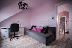 Modern teen room Stock Image