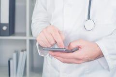 Modern teknologi i sjukvård och medicin Royaltyfri Fotografi