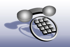 modern telefon Royaltyfria Bilder